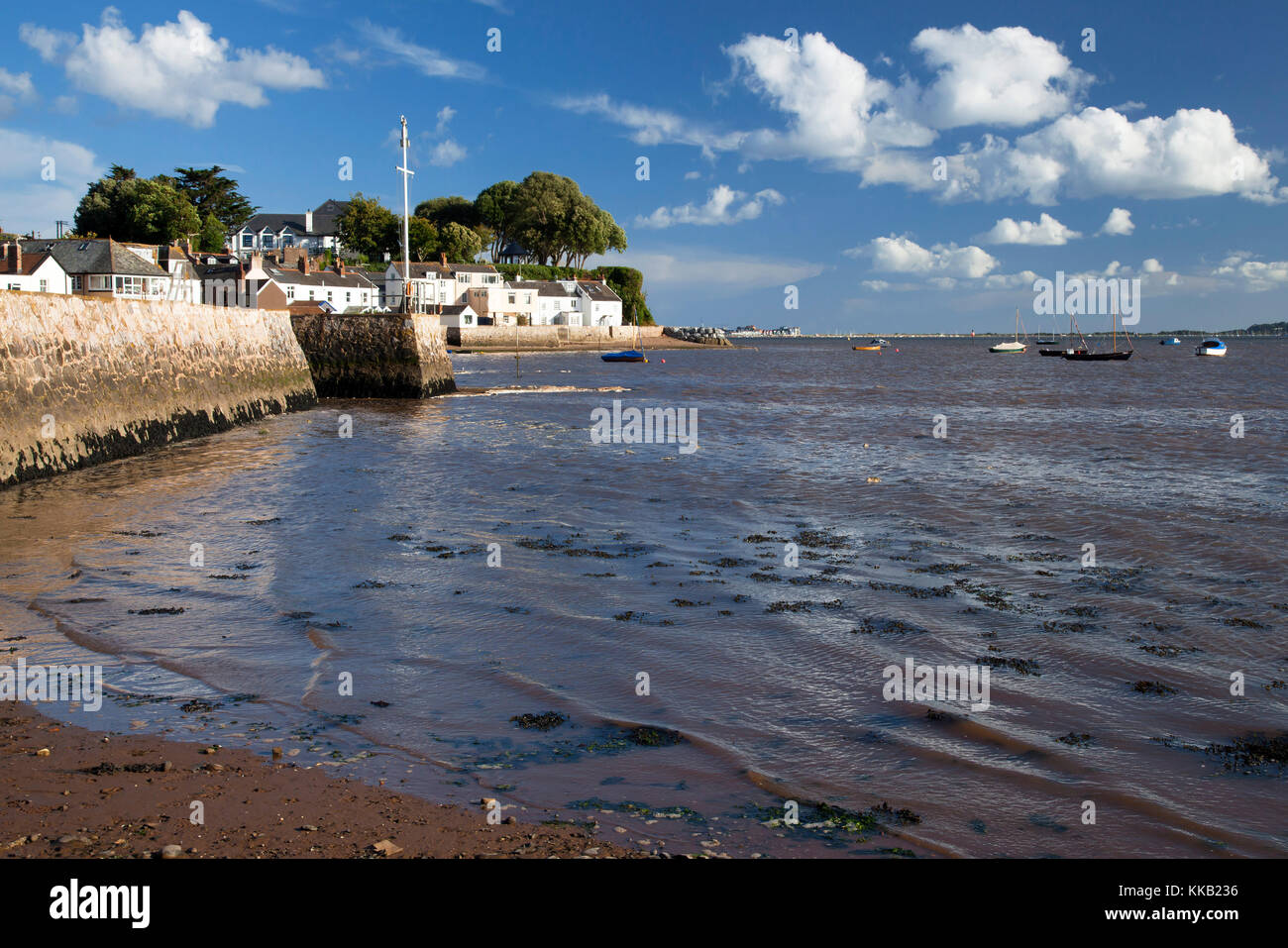 Exe estuary at Lympstone Devon Stock Photo