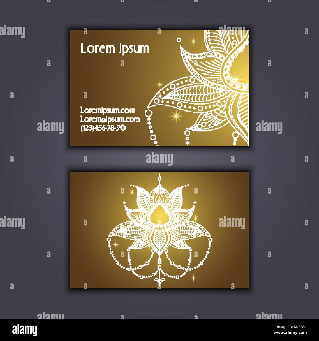 Visiting Card Vectors Stock Photos & Visiting Card Vectors Stock ...