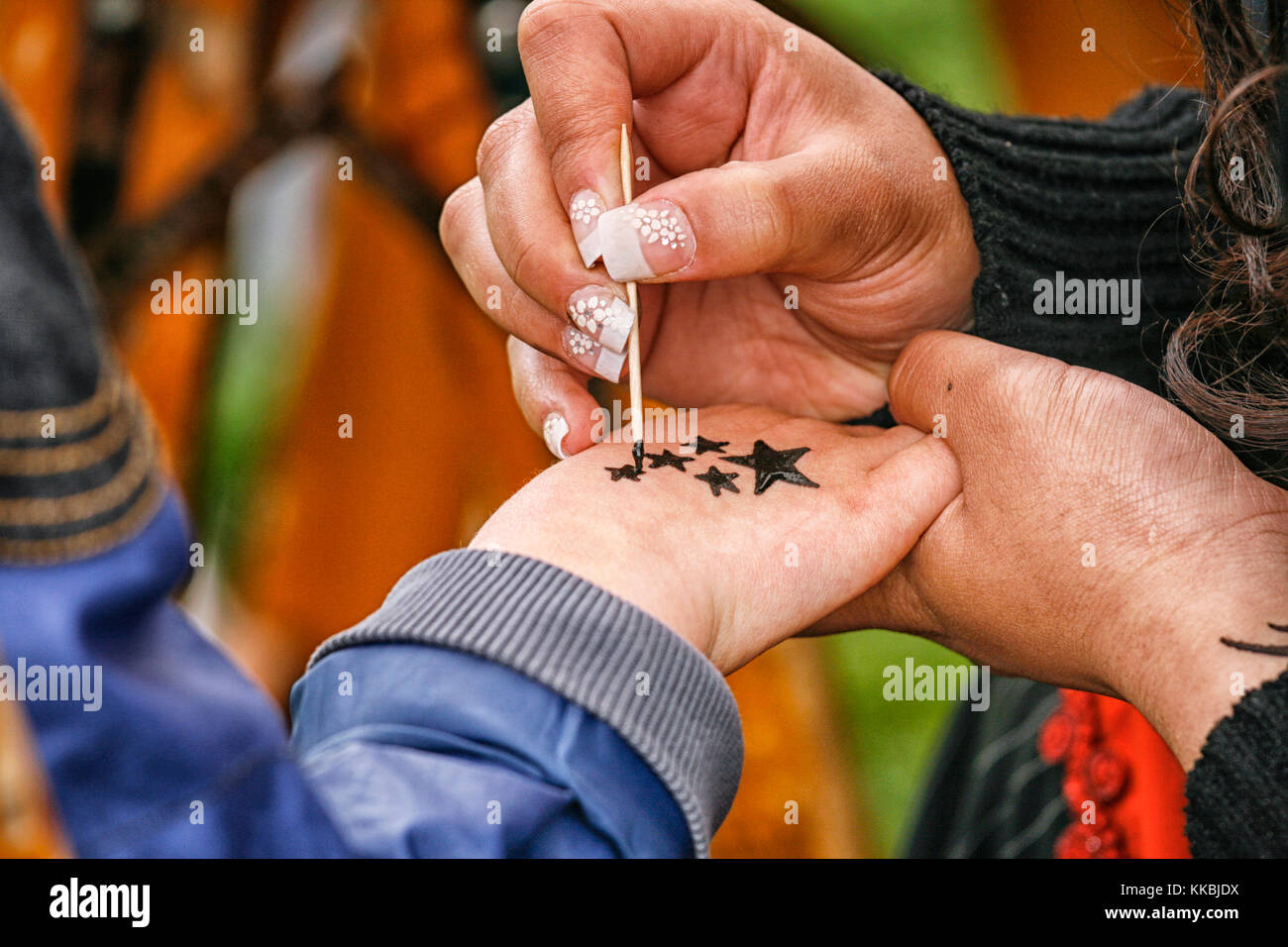 Long Nails Stock Photos & Long Nails Stock Images - Alamy