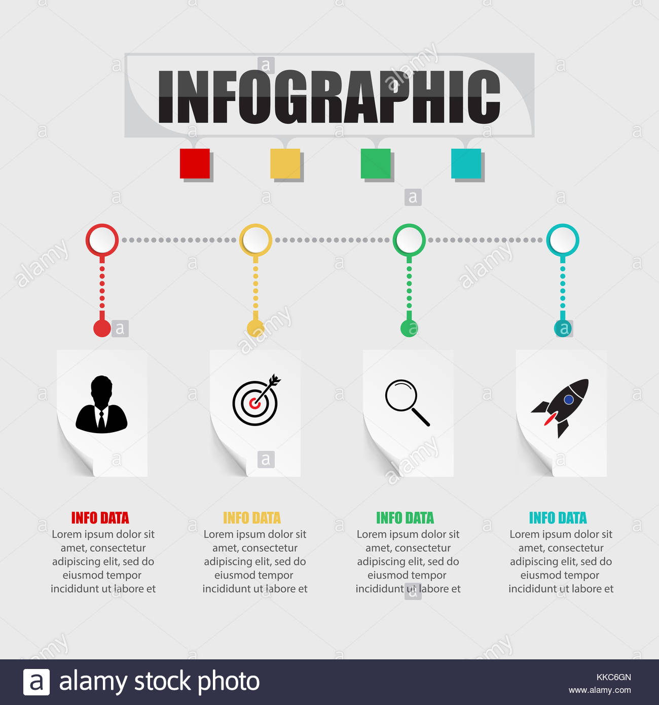 Business concept timeline infograph template realistic paper 4 business concept timeline infograph template realistic paper 4 steps infographic vector banner can be used for workflow layout diagrampresentatio fbccfo Choice Image
