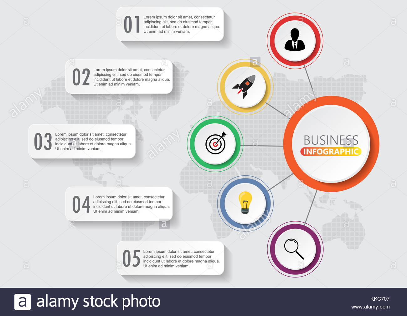 Infographics design vector and marketing icons can be used for stock infographics design vector and marketing icons can be used for workflow layout diagram annual report web design business concept with 5 options s ccuart Image collections