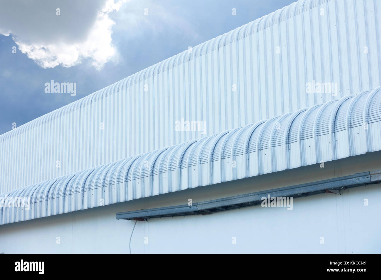 Metal Sheet Roofing Stock Photos Metal Sheet Roofing Stock Images