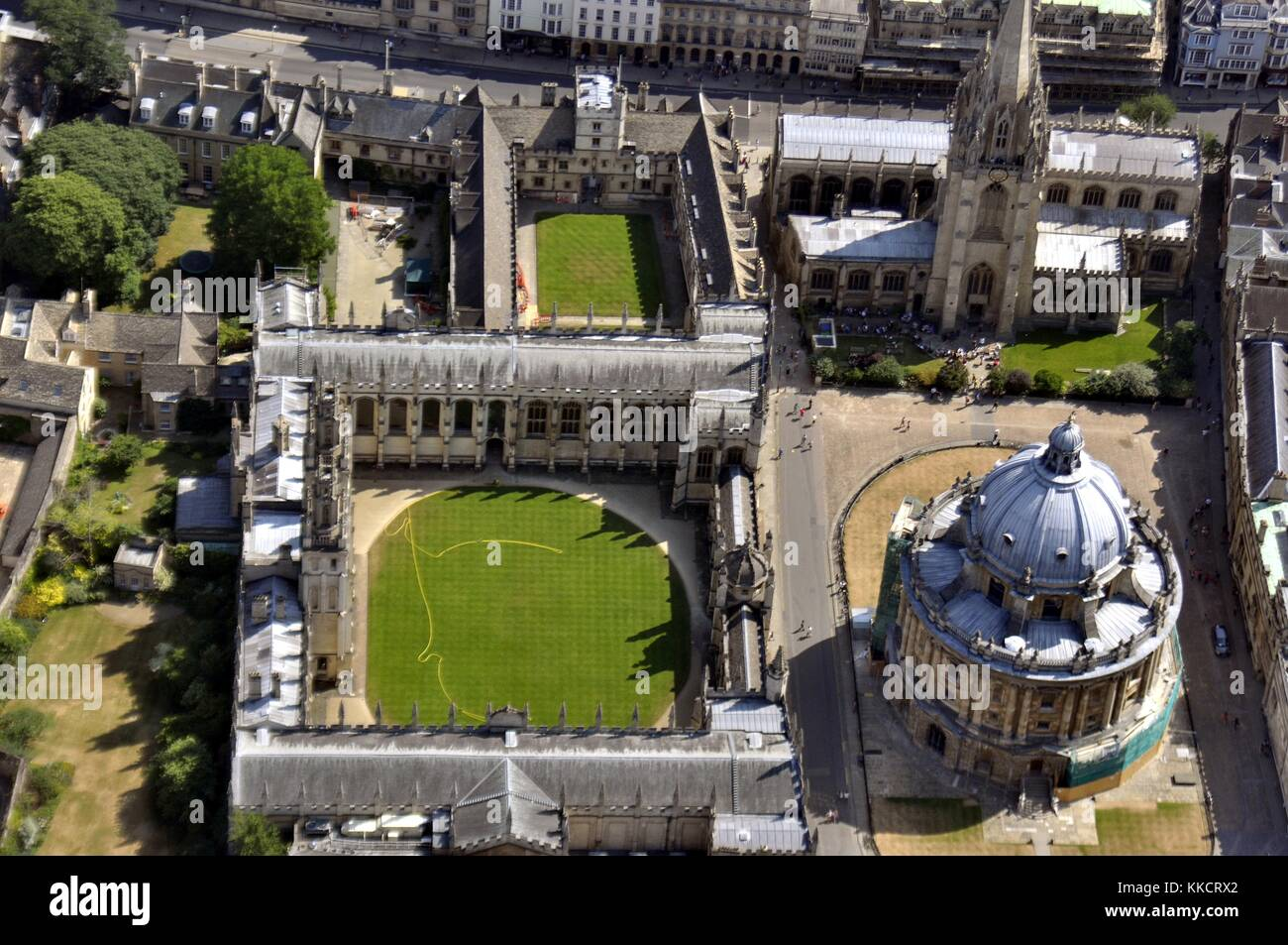 Oxford From The Air - Stock Image