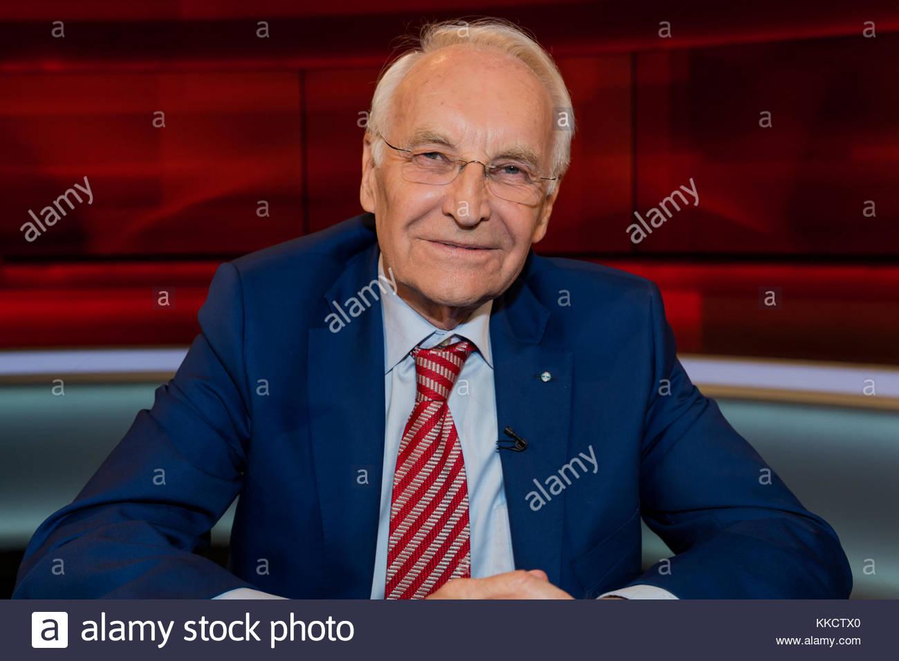 Edmund Stoiber - CSU-Ehrenvorsitzender, ehemaliger Bayerischer Ministerpraesident und ehemaliger CSU-Parteivorsitzender - Stock Image
