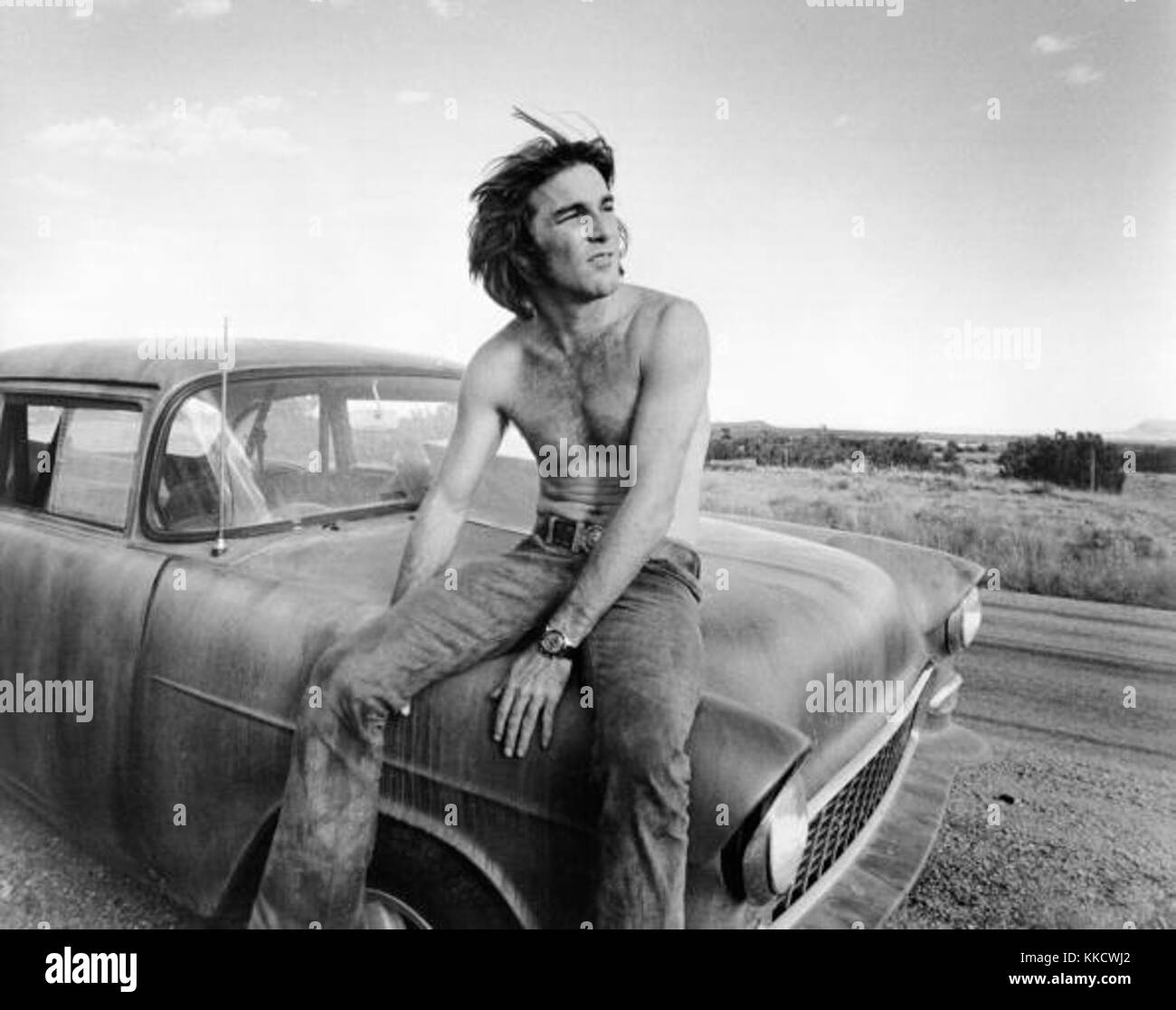 UNSPECIFIED - CIRCA 1970:  Photo of Beach Boys  Photo by Michael Ochs Archives/Getty Images Dennis Wilson 1971 - Stock Image