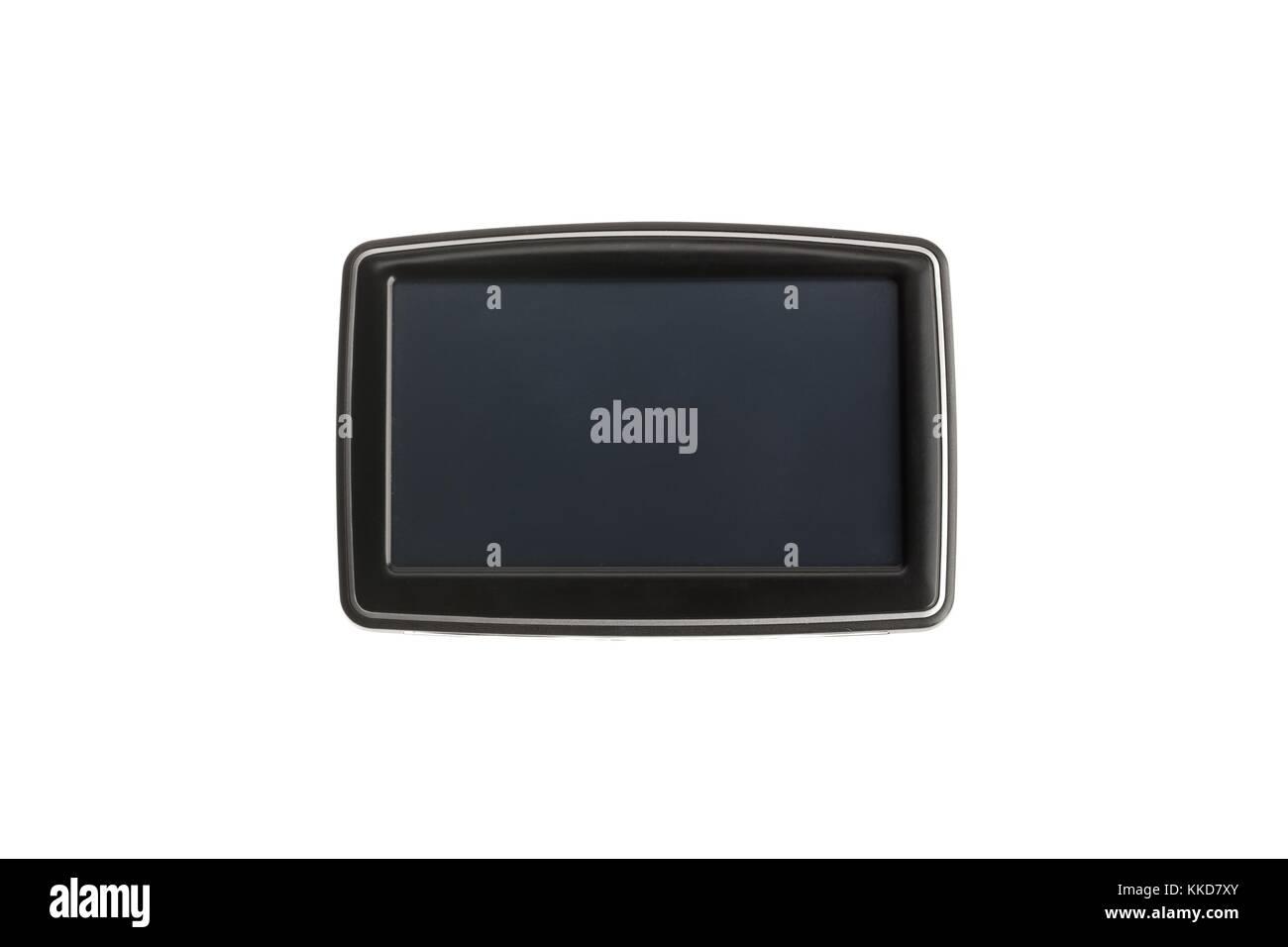 car gps navigation display - Stock Image