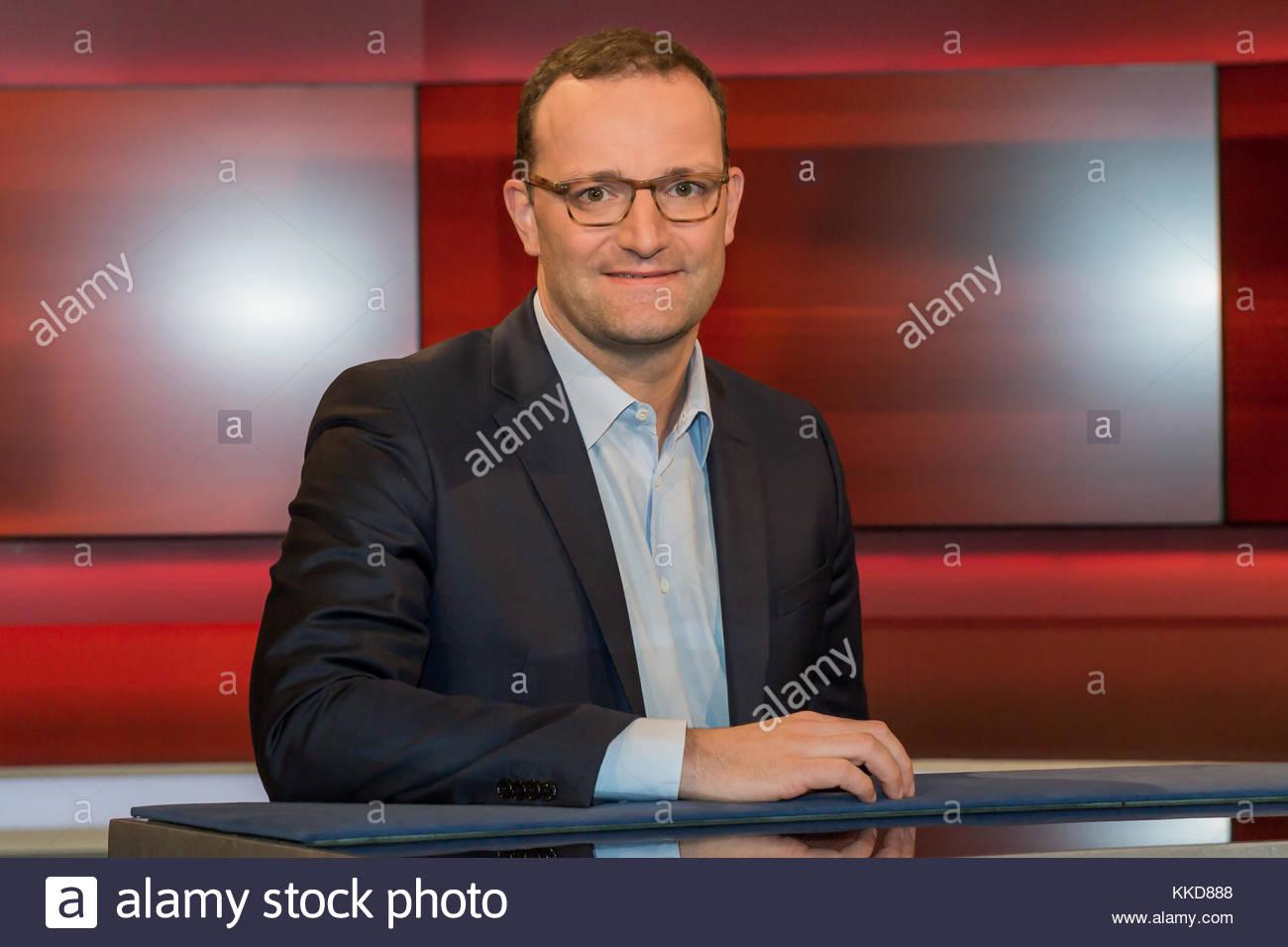 Jens Spahn - CDU, Mitglied des Bundesvorstandes und Parlamentarischer Staatssekretaer beim Bundesminister der Finanzen - Stock Image