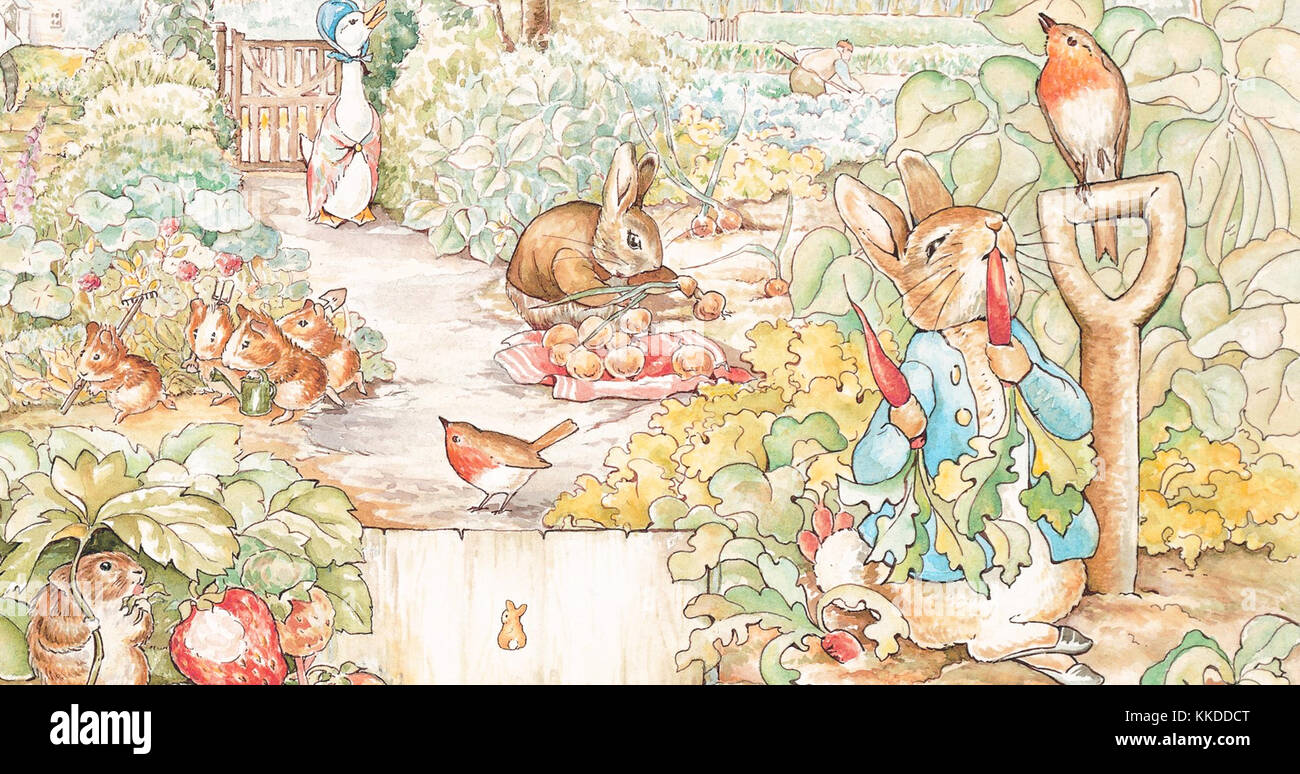 Beatrix Potter Peter Rabbit Stock Photos & Beatrix Potter Peter ...