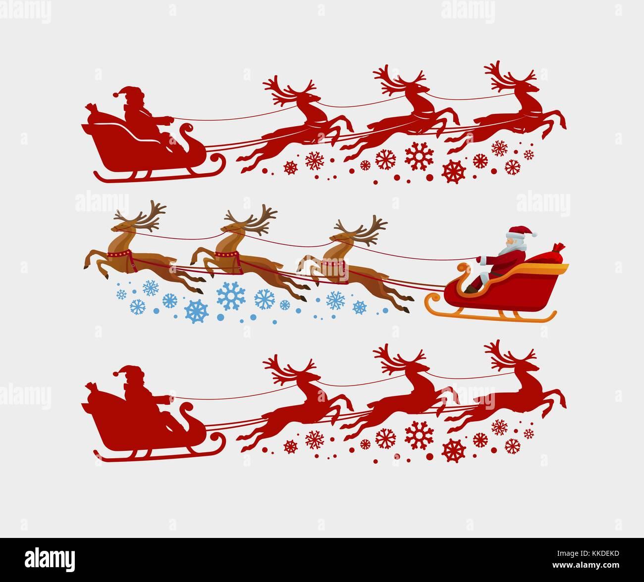 Santa Claus Sleigh Stock Photos & Santa Claus Sleigh Stock ...
