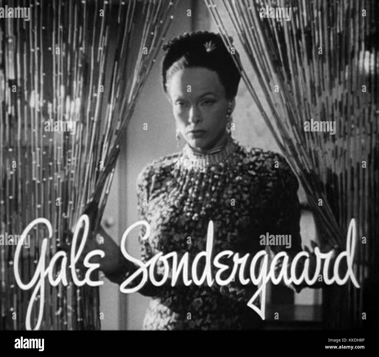 Gale Sondergaard in The Letter trailer Stock Photo: 166870726   Alamy
