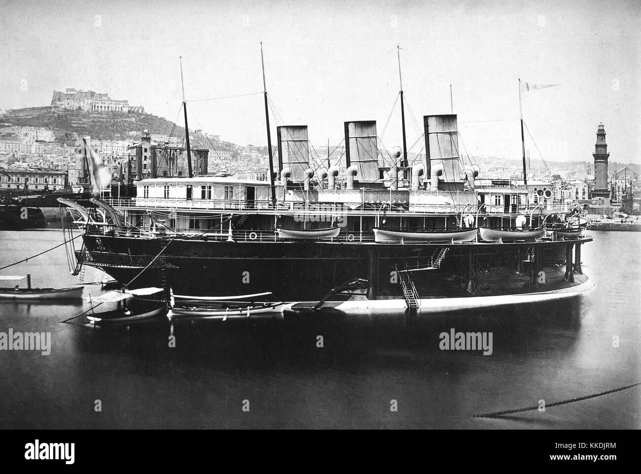 Livadiya-yacht - Stock Image