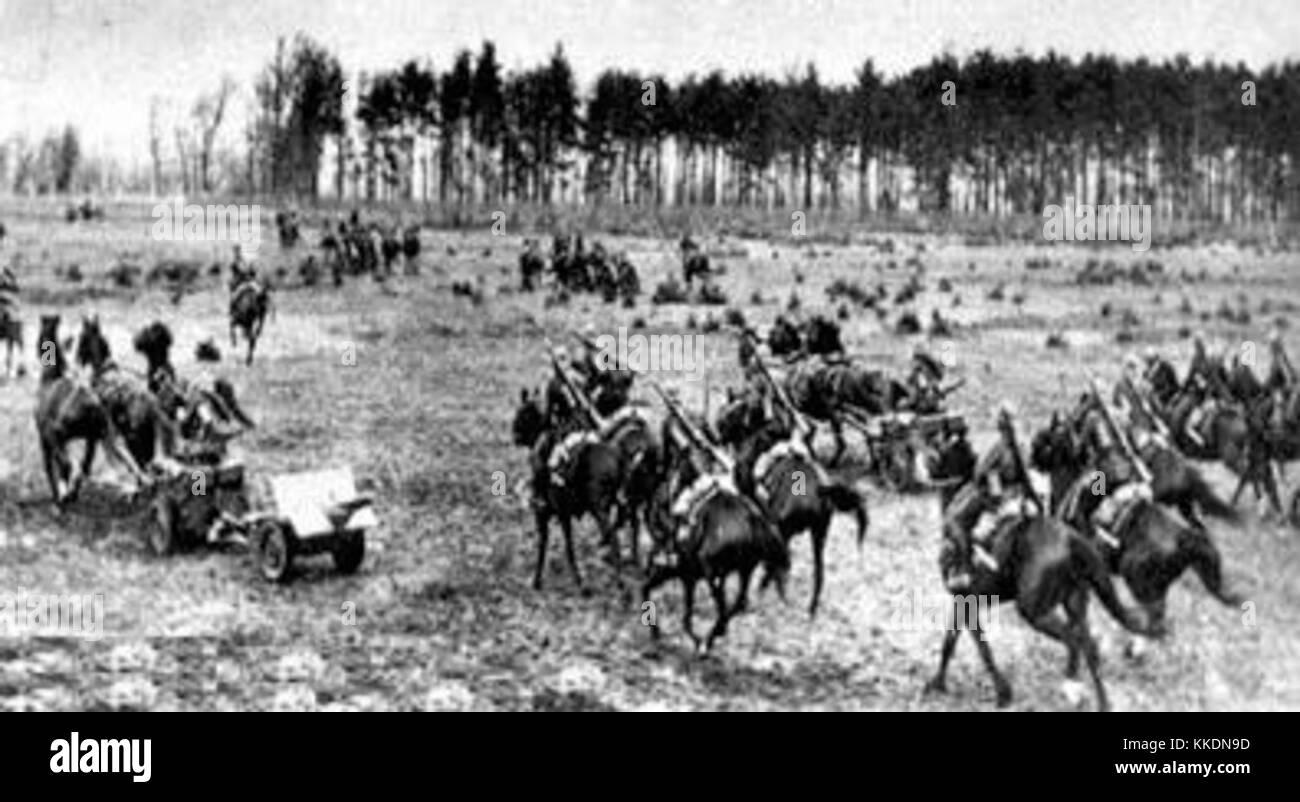 WBK -battle of Bzura 1939 - Stock Image