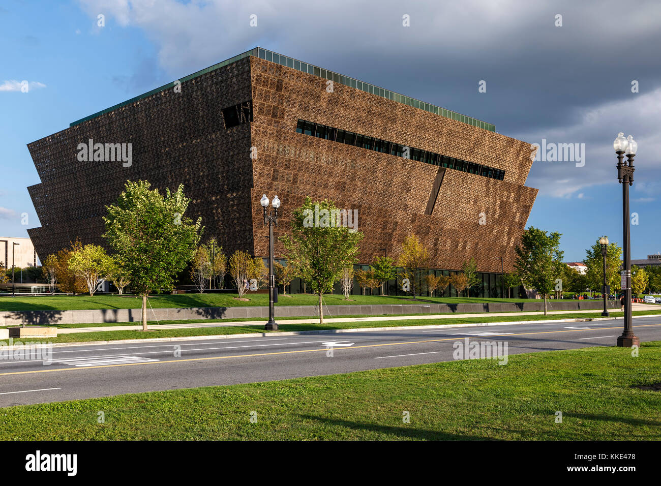 Smithsonian National Museum of African American History and Culture, Washington, District of Columbia USA - Stock Image