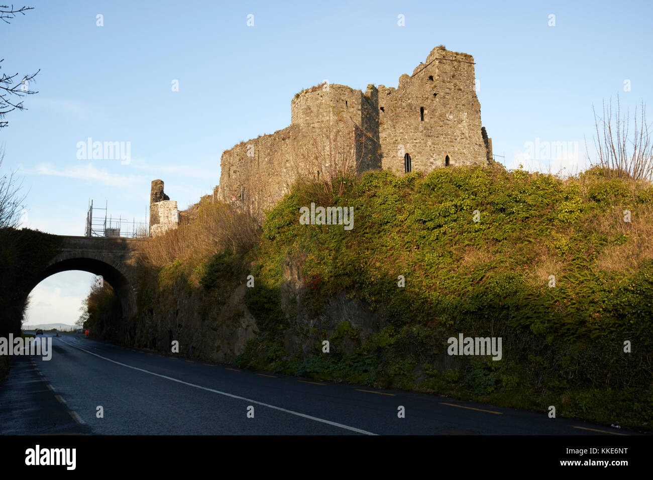 king johns castle carlingford county louth republic of ireland - Stock Image