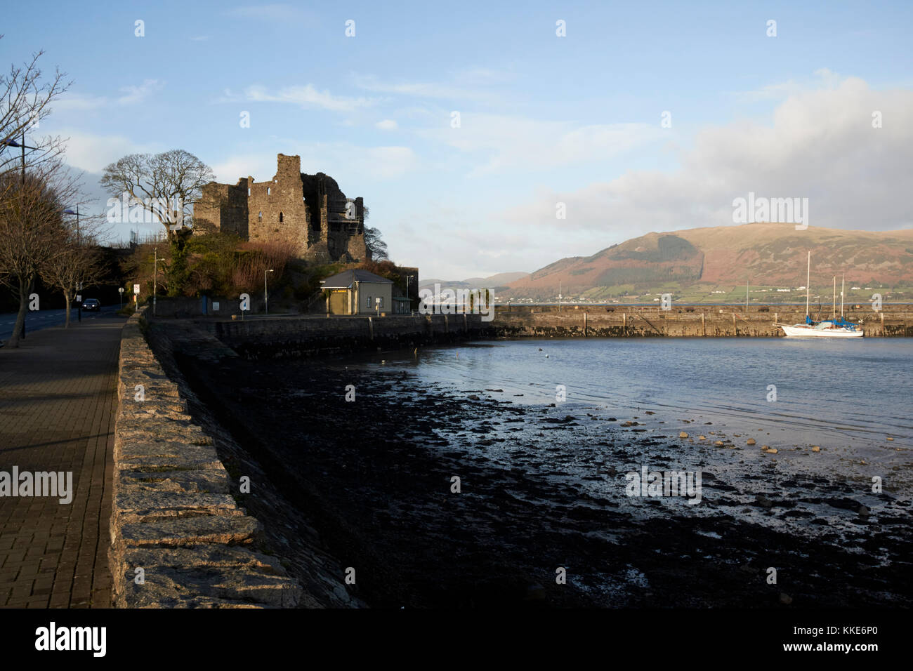 king johns castle on carlingford lough carlingford county louth republic of ireland - Stock Image