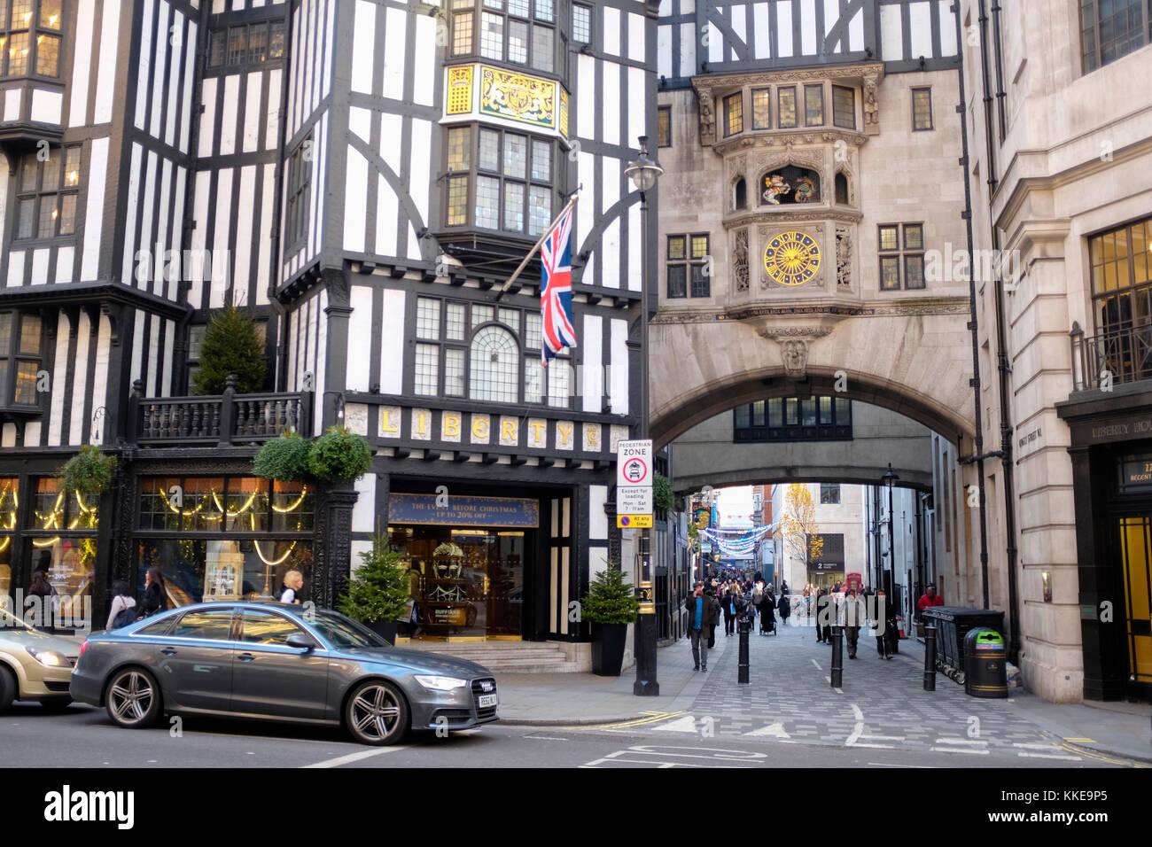 Liberty department store, London - Stock Image