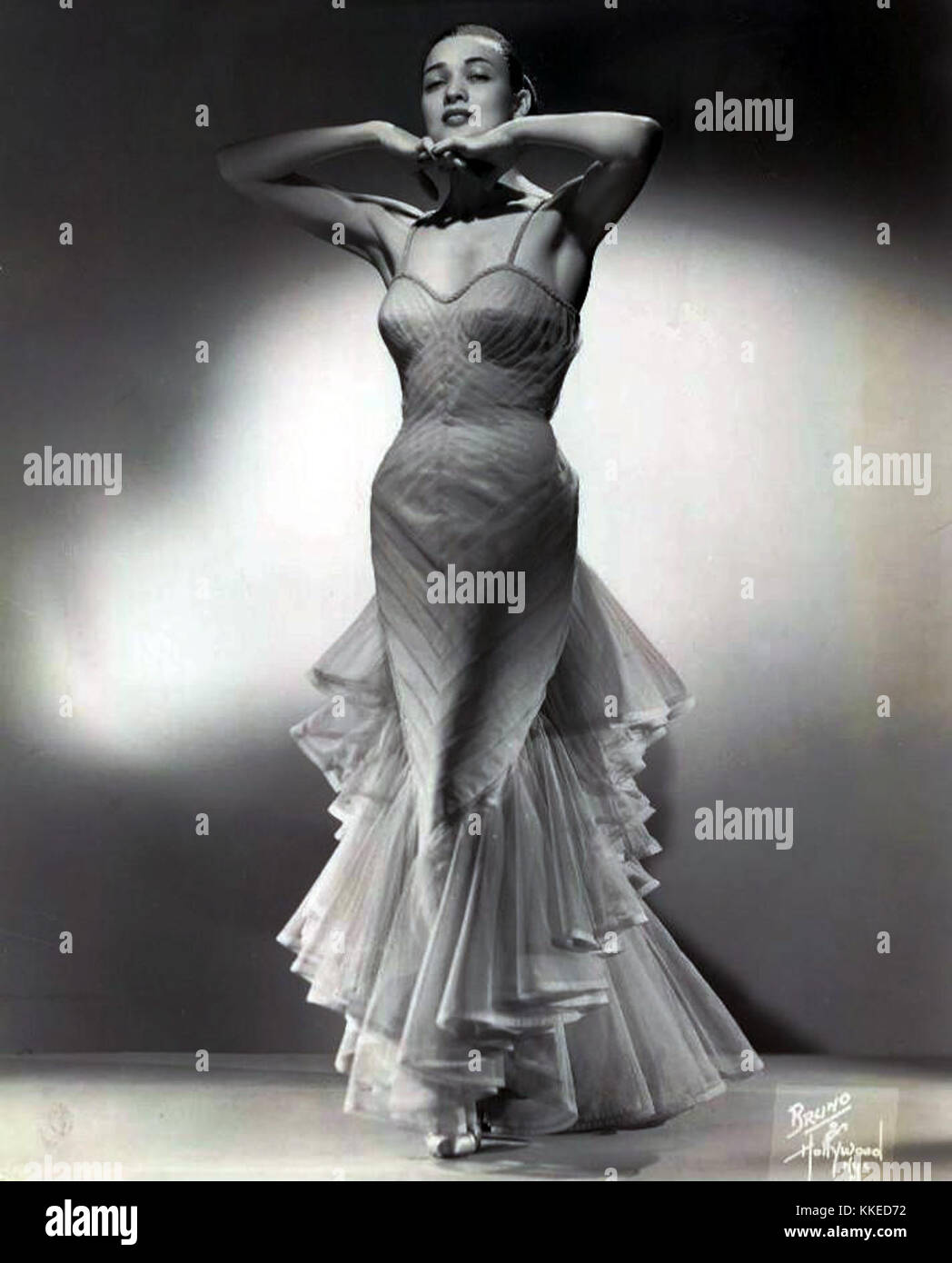 Julie Wilson 1963 Stock Photo