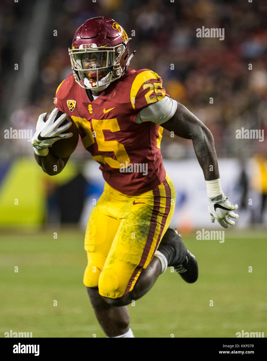 Dec 01 2017 Santa Clara U S A Ca Usc Running Back Ronald Jones Ii Stock Photo Alamy