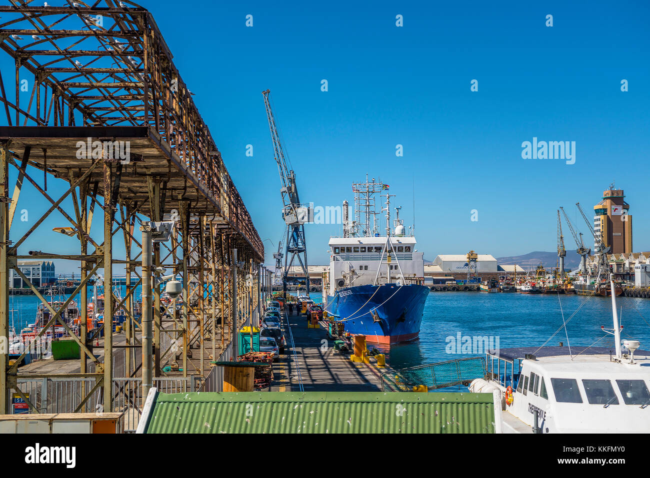 Port, Cape Town, South Africa Stock Photo