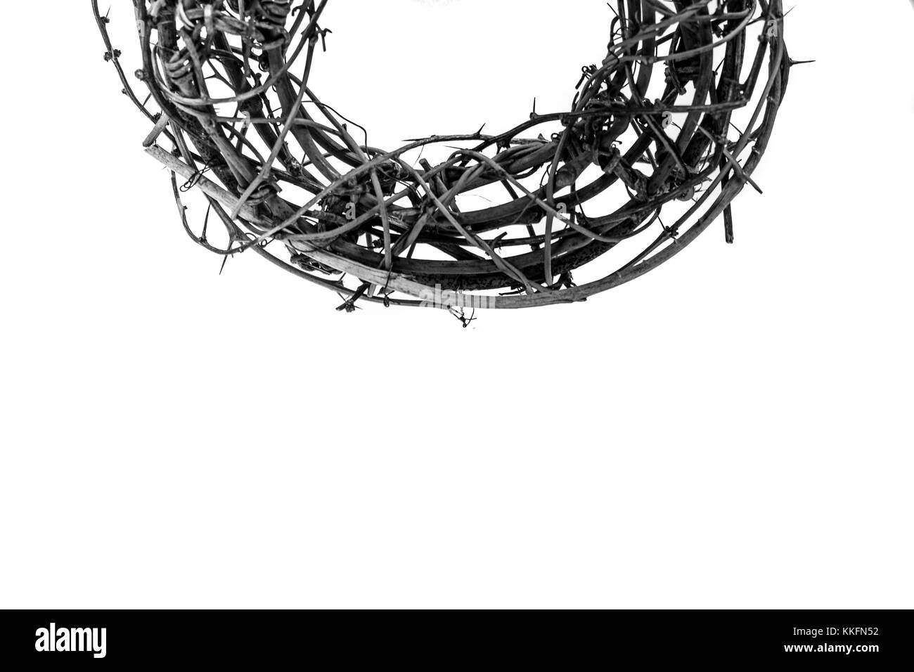 Crown Of Thorns As Worn By Jesus Christ In The Easter Passion Story During His