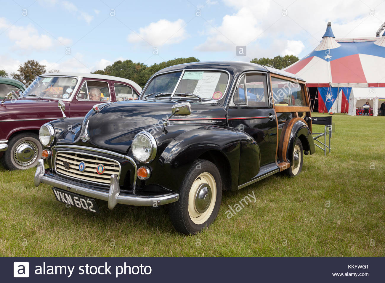 1955 Morris Minor Traveller - Stock Image
