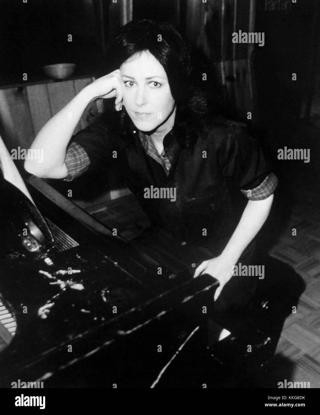 Grace Slick RCA records publicity photo - Stock Image