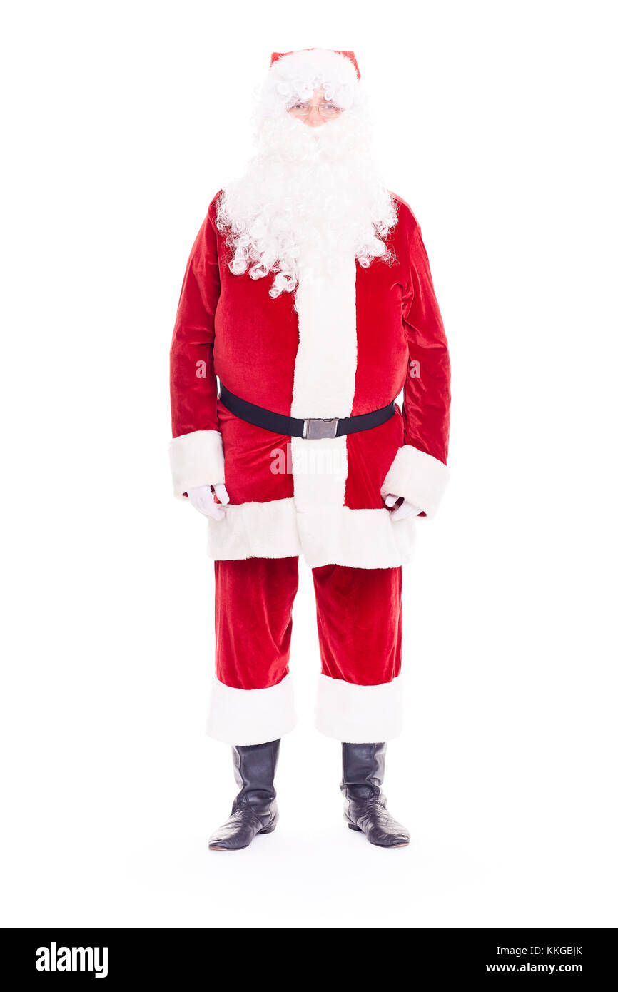 Real Santa Claus - Stock Image