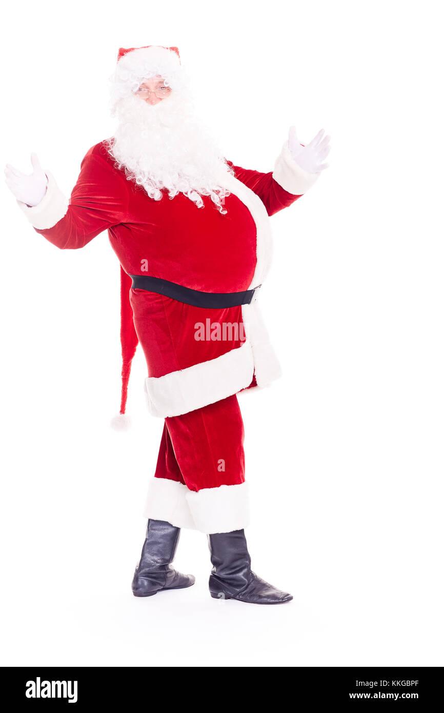 Real Santa Claus - Stock Image