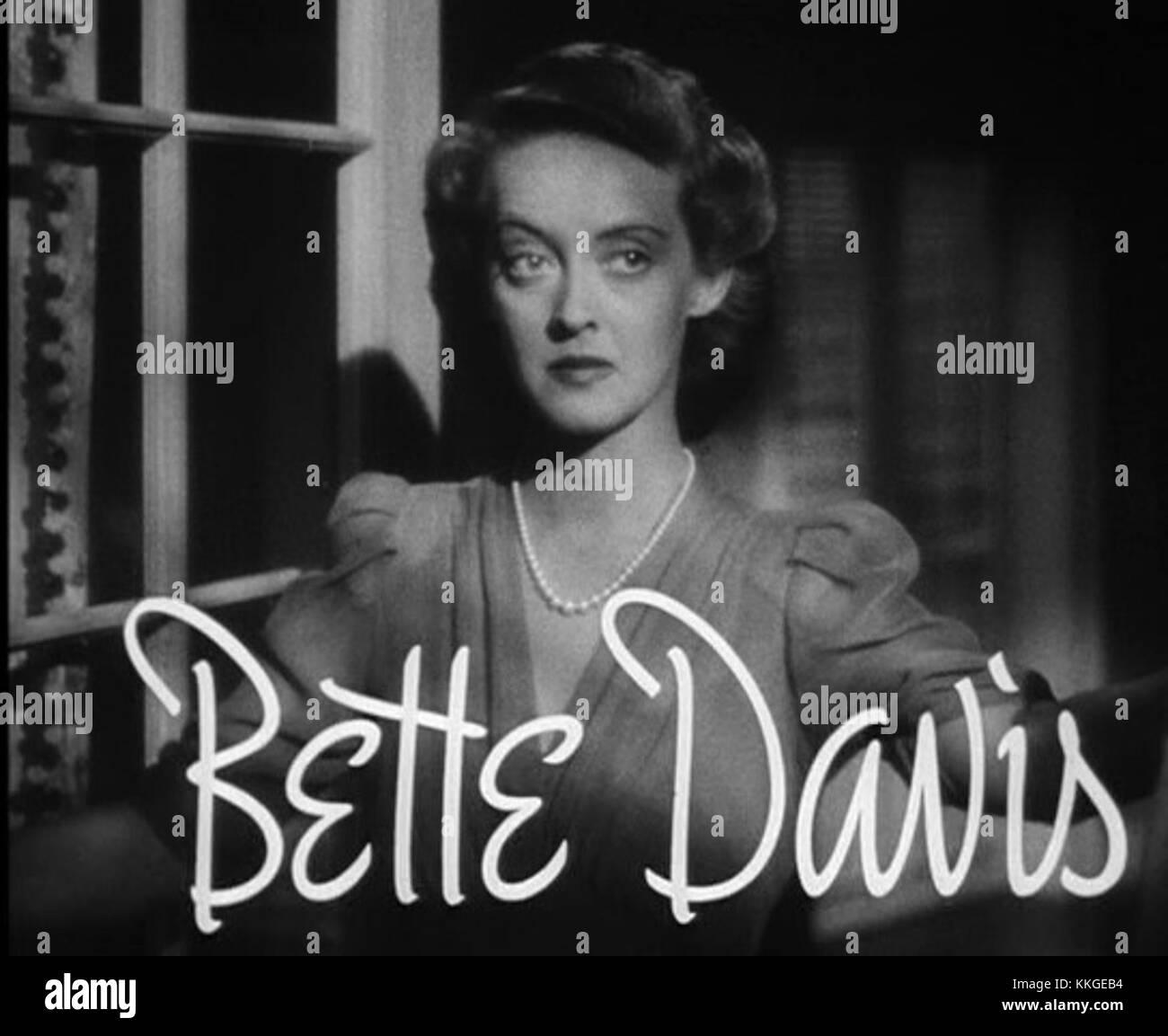 Bette Davis in The Letter trailer 1 Stock Photo: 166934296   Alamy