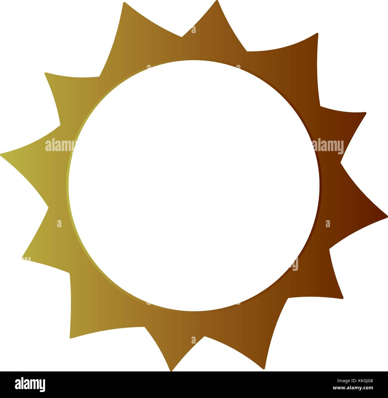sun hot weather day sky natural - Stock Image