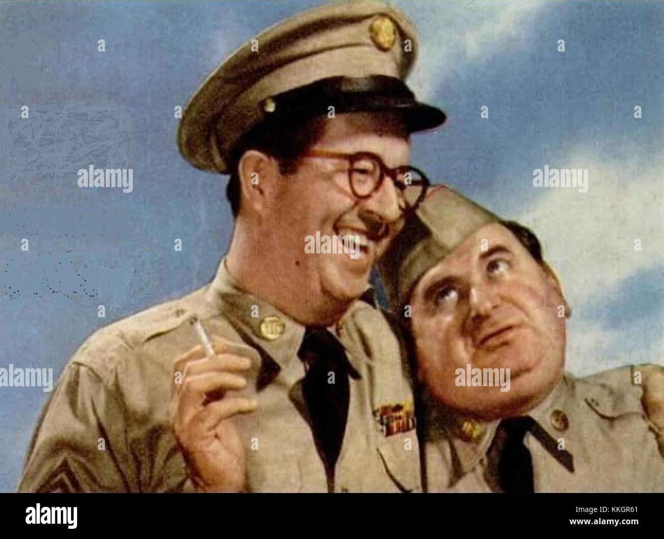 Sgt bilko 1956 - Stock Image