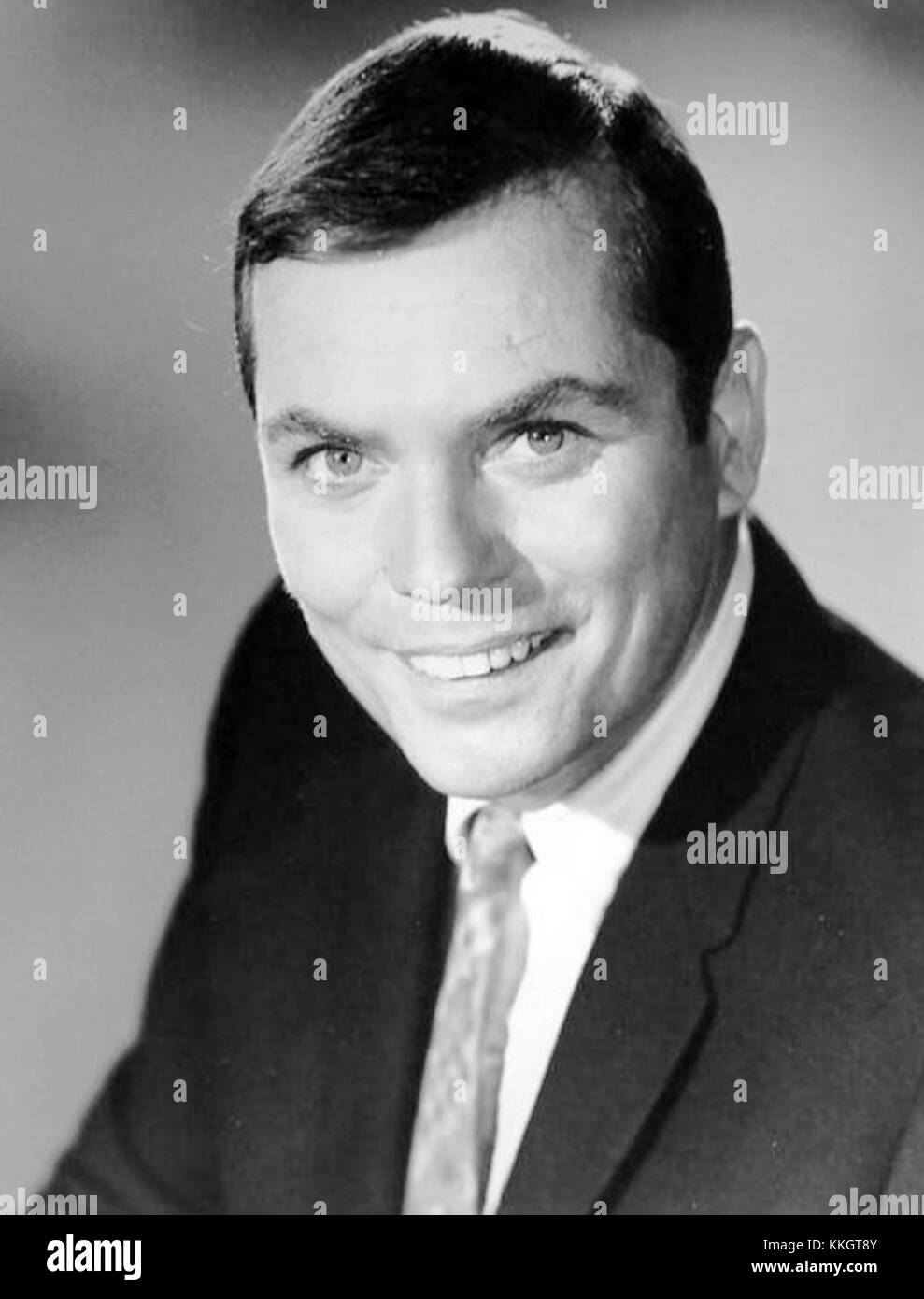 Peter Marshall game show host - Stock Image