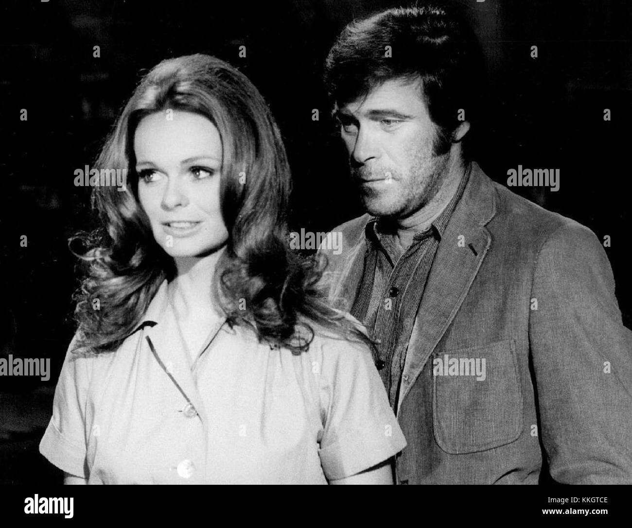 Christopher George Lynda Day George Mission Impossible 1971 - Stock Image