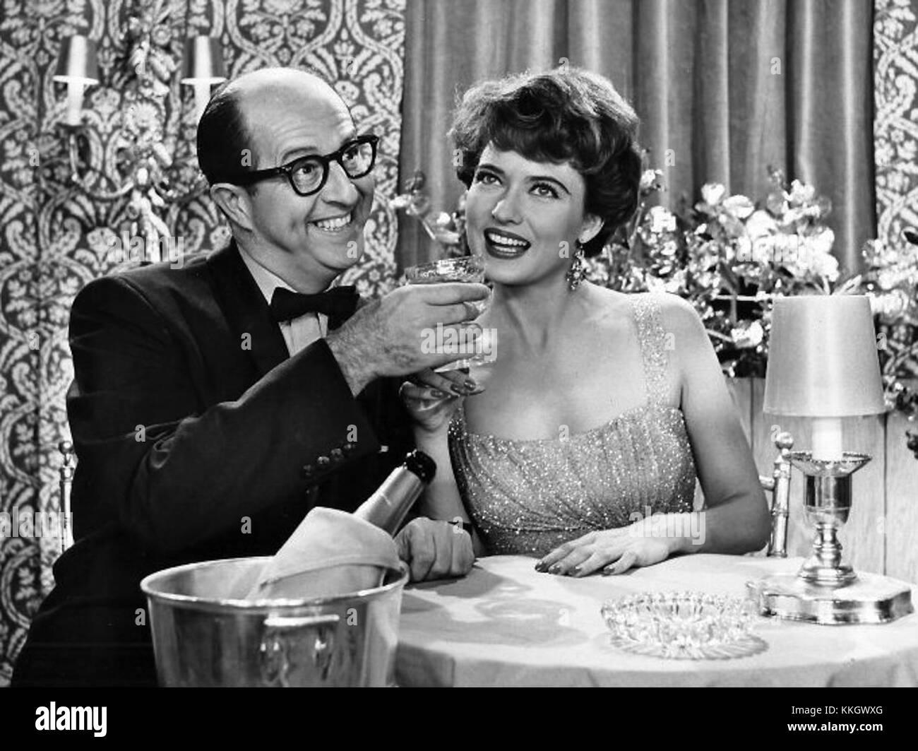 Phil Silvers Julie Wilson Bilko 1958 - Stock Image