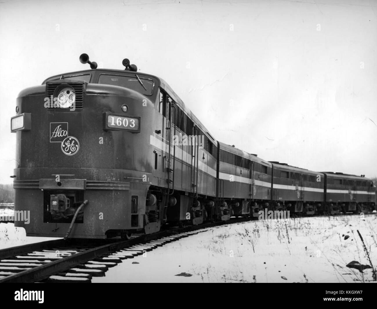 Alco Fa 2 Locomotive 1950 Stock Photo 166944099 Alamy