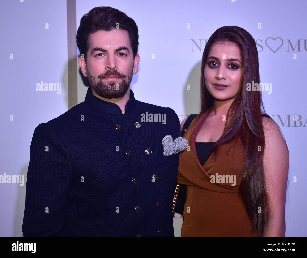 Mumbai, India. 30th Nov, 2017. Indian film actor Neil Nitin Mukesh attend the Popular ethnic brand Neeru's an exclusive Stock Photo