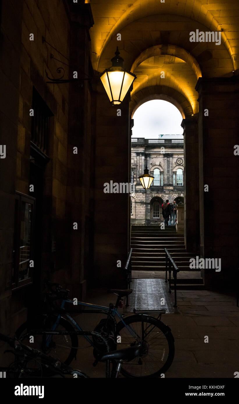 University Corridor Old Fashioned