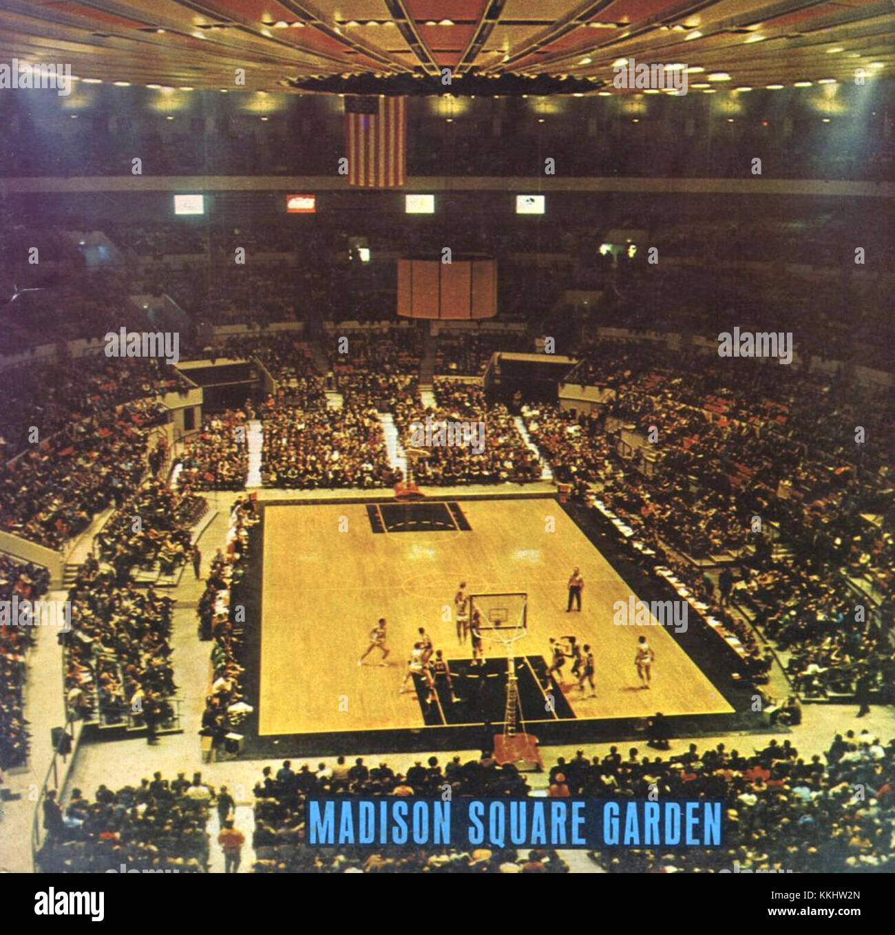 Madison Square Garden 1968 Stock Photo: 166964637 - Alamy