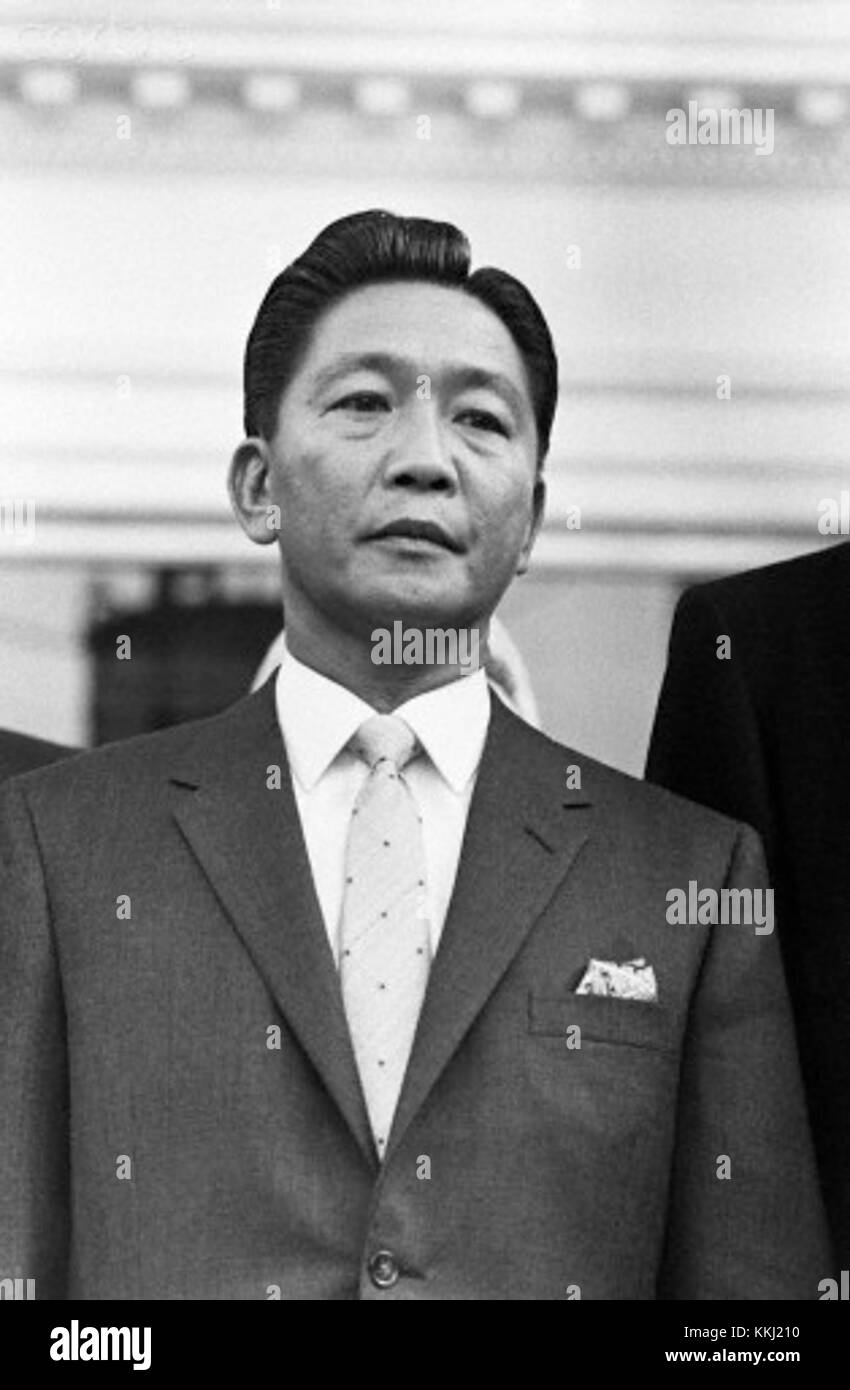 ca. 1970, Washington, DC, USA --- Ferdinand Marcos was president of the Philippines from 1965 to 1986. He was ousted Stock Photo