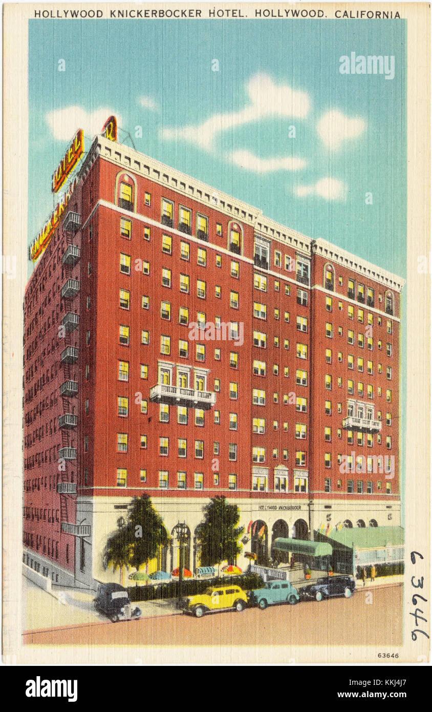 Hollywood Knickerbocker Hotel, Hollywood, California (63646) Stock Photo
