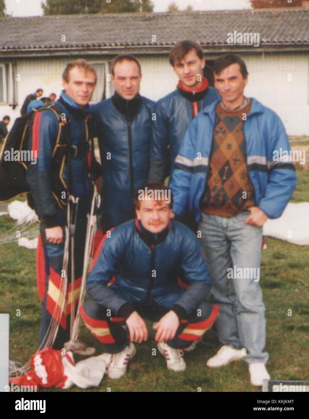 Spadochronowe Mistrzostwa Polski w RW-4 Nowy Targ 1993 02 - Stock Image