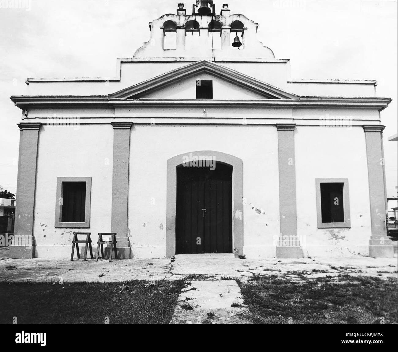 Iglesia Parroquial de San Pedro Apostol de Toa Baja - Stock Image