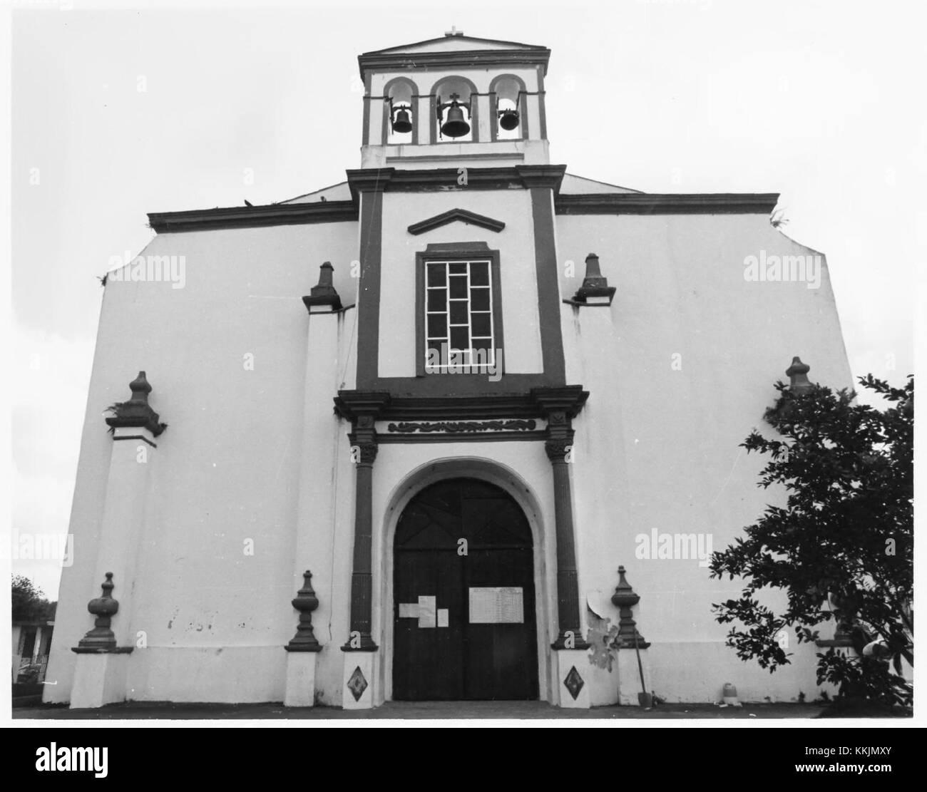 Church Nuestra Senora de la Concepcion y San Fernando of Toa Alta - Stock Image