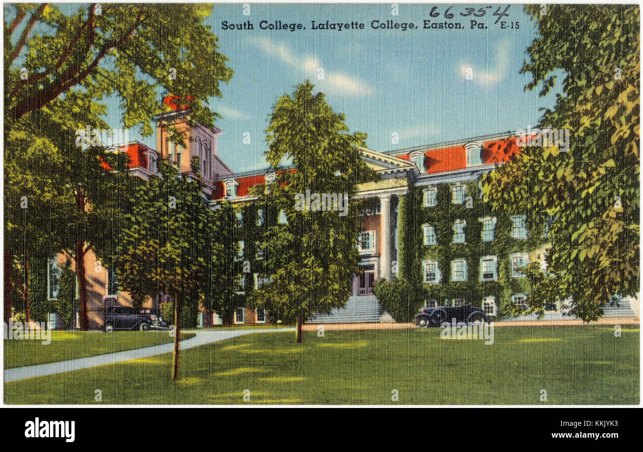 South College, Lafayette College, Easton, Pa (66354) - Stock Image