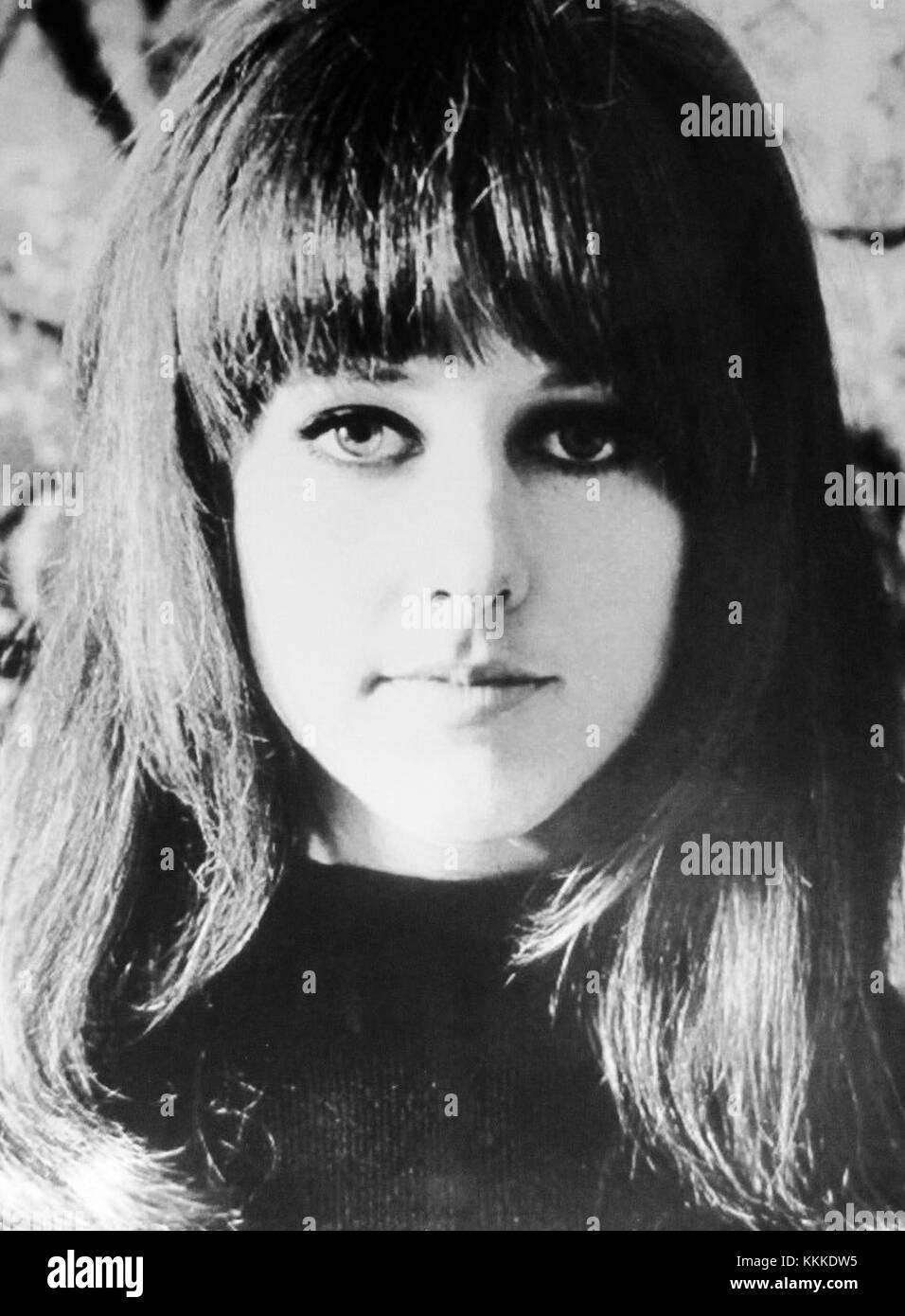 Grace Slick ca. 1967 - Stock Image