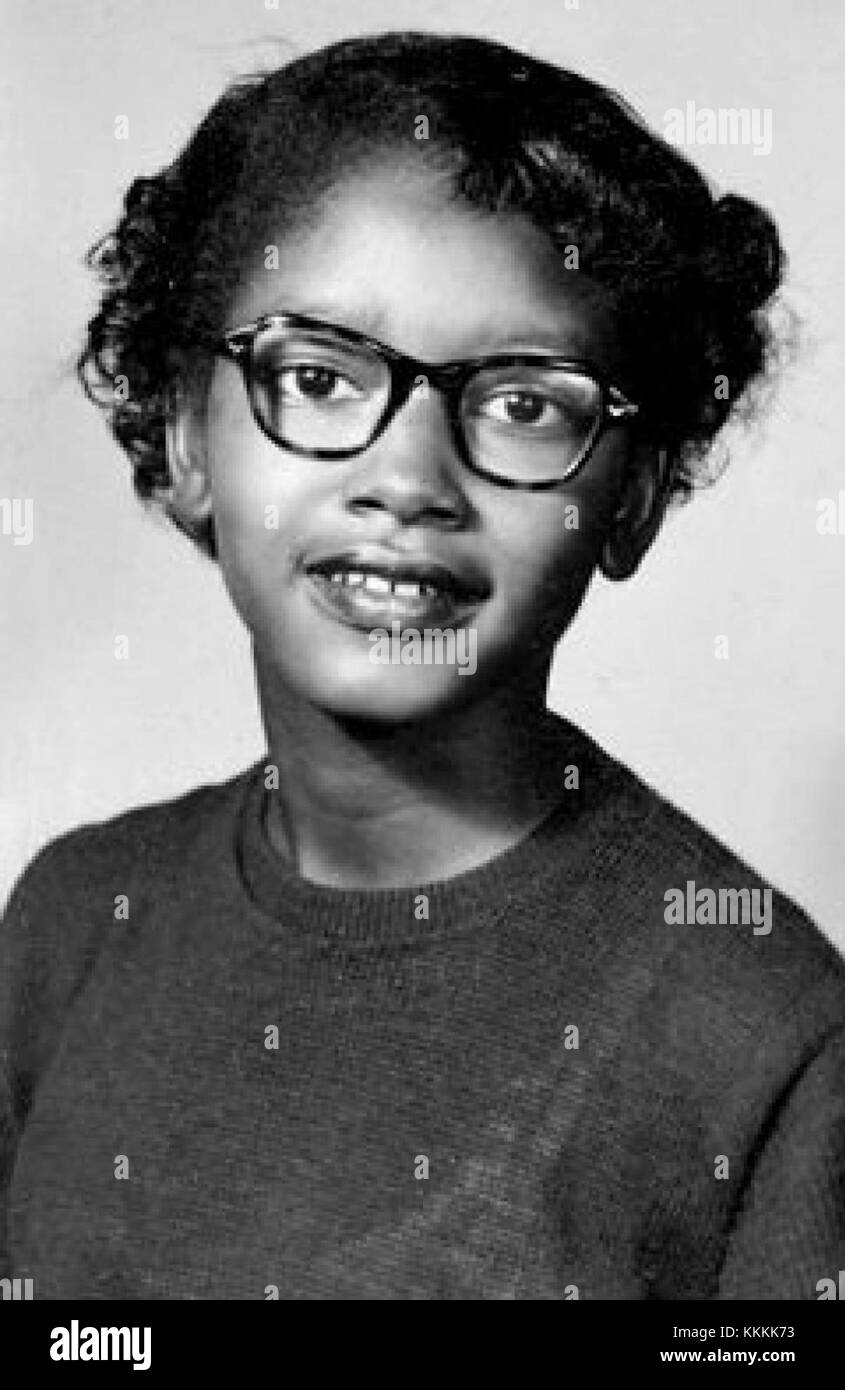 Claudette Colvin Stock Photo