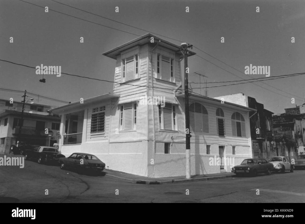 Residencia Ramirez Fuentes 1 - Mayaguez Puerto Rico - Stock Image