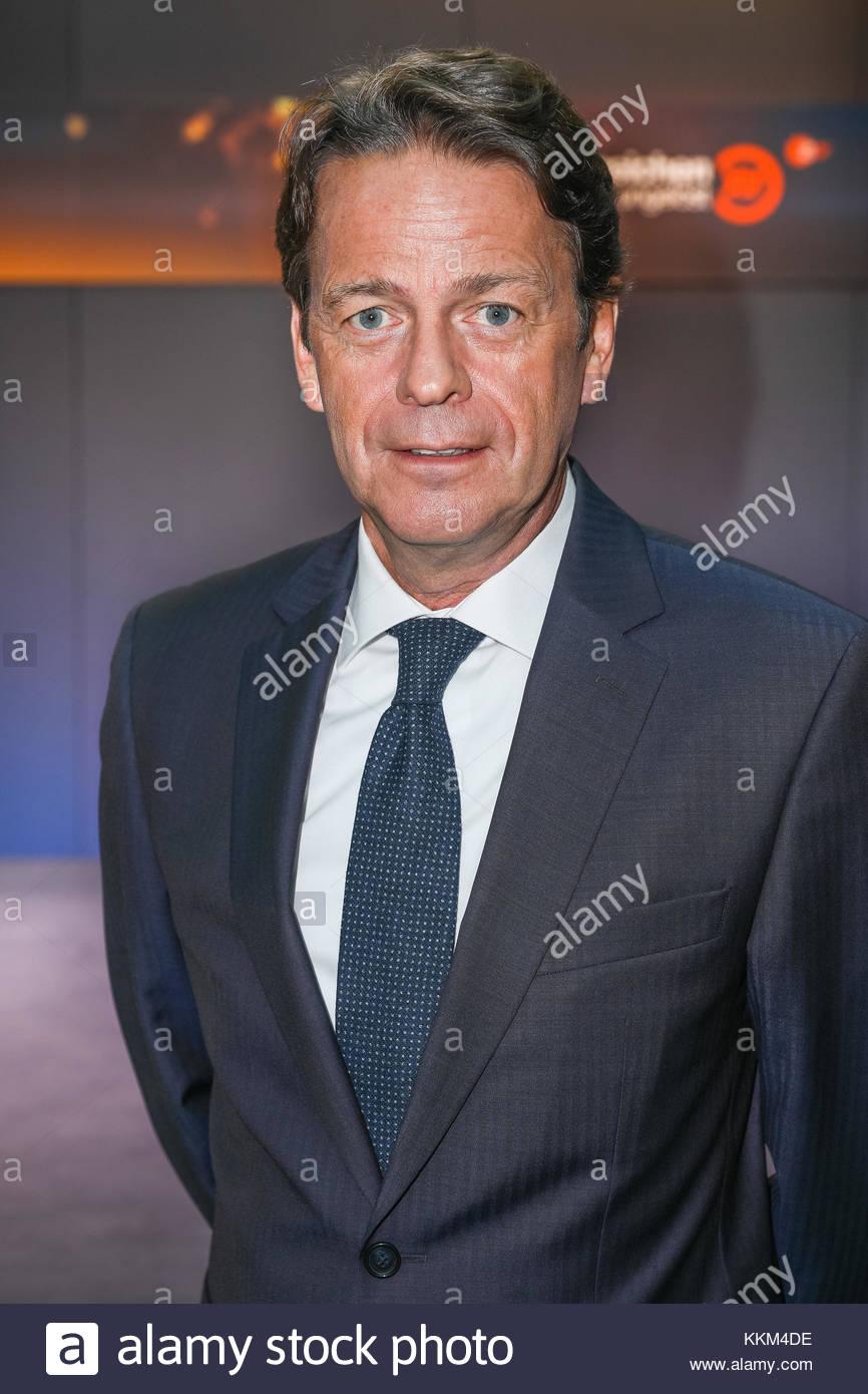 Moderator Rudi Cerne bei der Jubilaeumssendung 50 Jahre 'Aktenzeichen XY… ungelöst' im ZDF Hauptstadtstudio - Stock Image