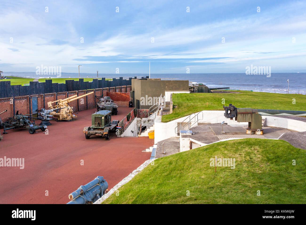 The Heugh Battery Museum, Hartlepool, County Durham UK - Stock Image