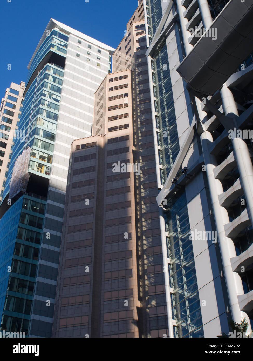 Hong Kong Office Buildings - Stock Image